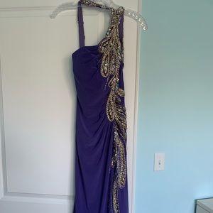 Purple jovani gown